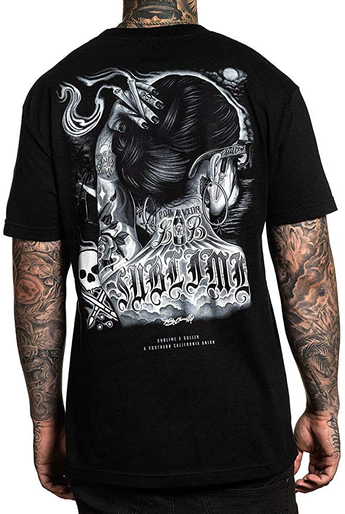 Sullen Mens One Drop Short Sleeve T Shirt