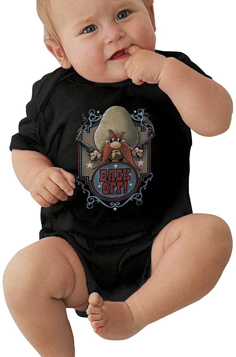 Yosemite Sam Baby Jersey Bodysuit Toddler Baby 0-2t Jumpsuit.
