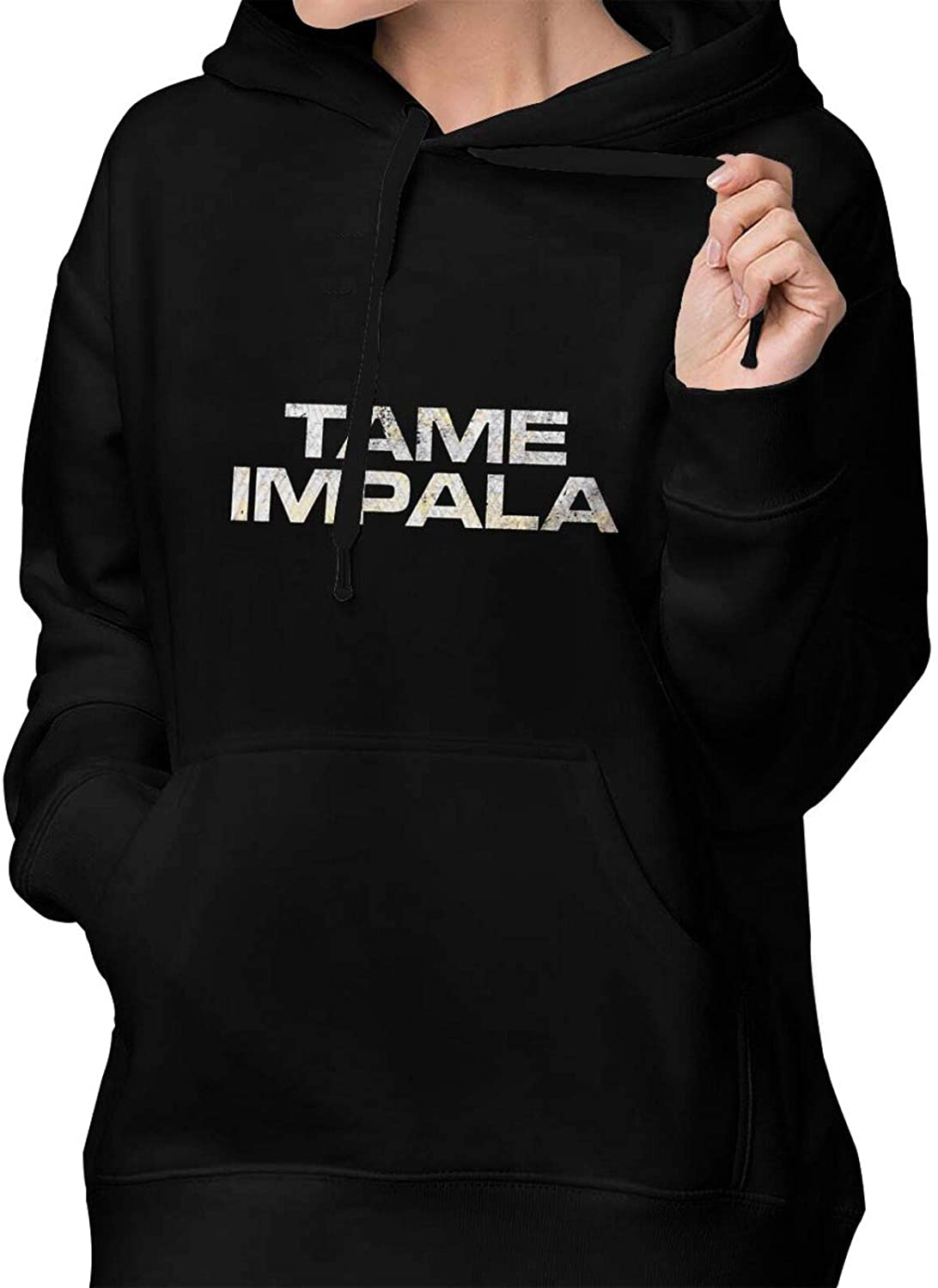 AP.Room Tame Impala Women's Fashion Hoodie Pullover Cotton Sweatshirt Front Pocket