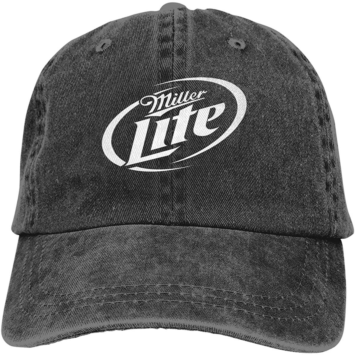 MaMing Miller Lite Fashion Casquettes Unisex Cap Adjustable Men Women Casual Cowboy Hat