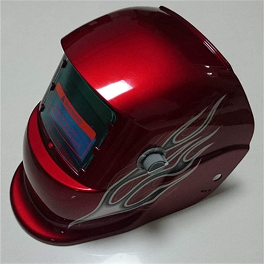 Cheap Auto Darkening Welding Helmet in Beautiful Multicolor Autumn Leaf Design