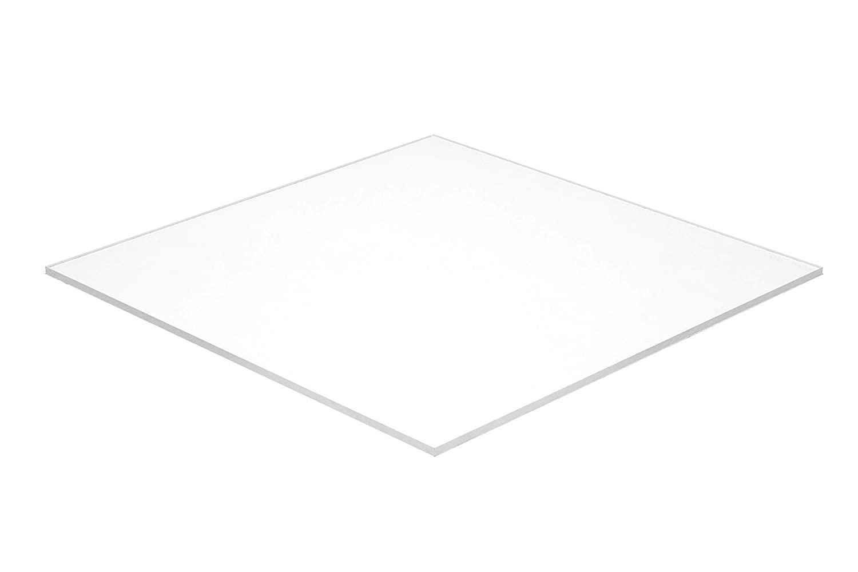 Falken Design HIS High Impact Styrene Sheet, Black, 8