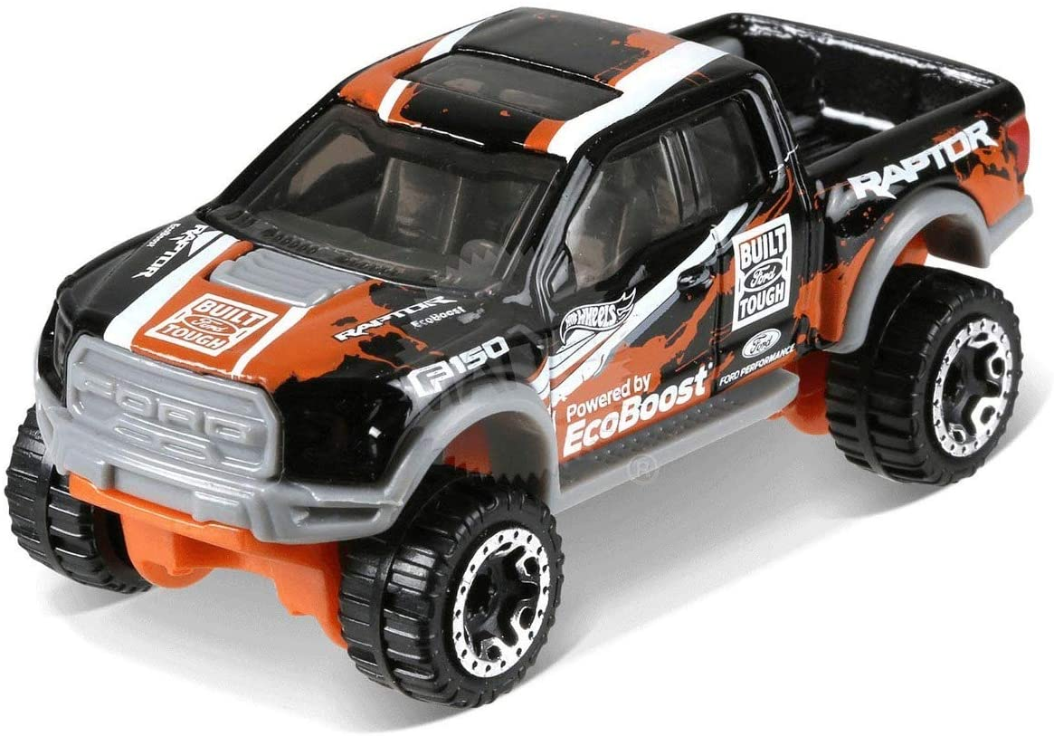 Hot Wheels 2018 50th Anniversary HW Hot Trucks '15 Ford F-150 Raptor 348/365, Black