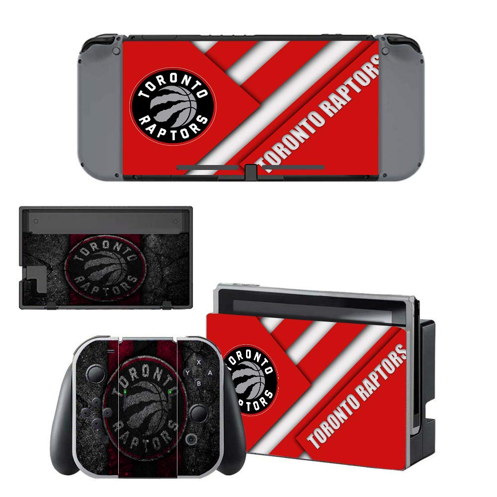 Basketball VIP TEAM Decals Stickers Full Set Faceplate Skin for Nintendo Switch Console & Joy-con Controller & Dock Protection Kit OnlyNintendo Switch