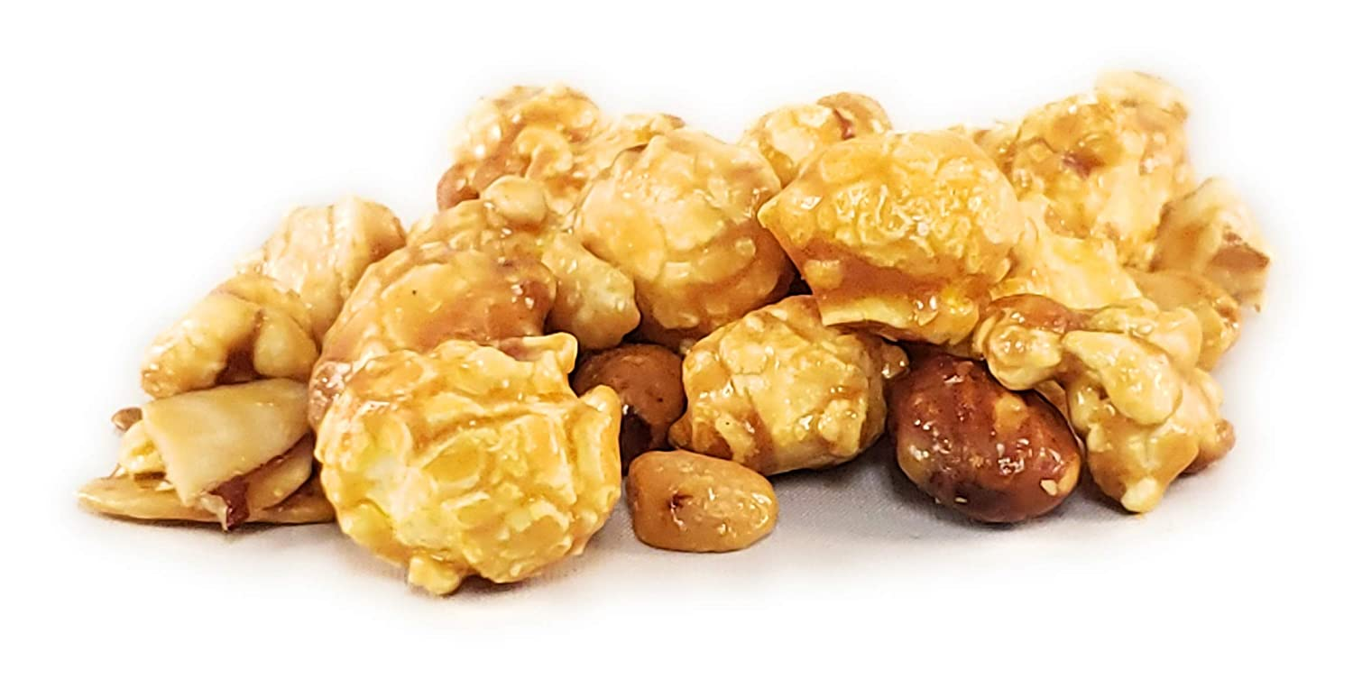 POP-Maize-N Gourmet Popcorn (Caramel with Nuts)
