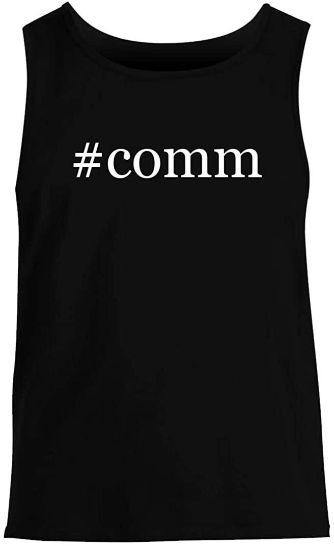 #comm - Men's Hashtag Summer Tank Top