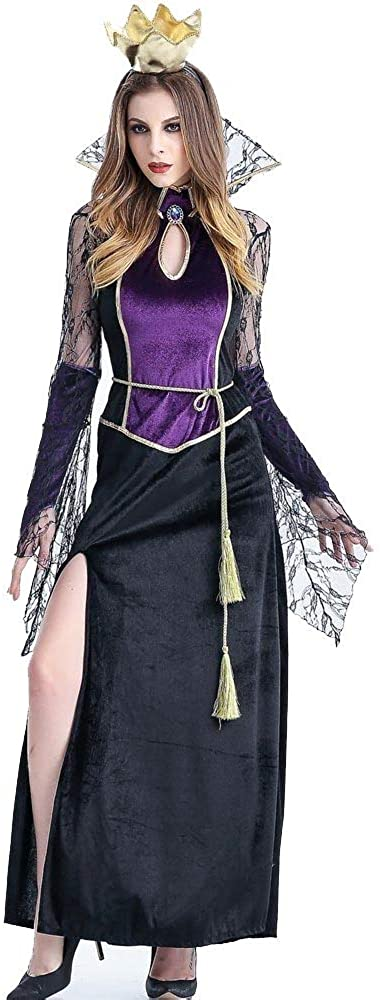 Halloween Scary Costumes Cosplay Vampire Queen Witch Costume Fantasia Women Sexy Fantasias Fancy Dress