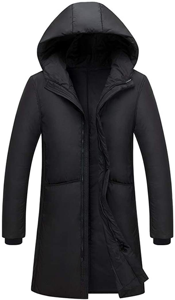 HiiWorld Warm Thick Winter Down Jacket Men Clothing Male White Duck Down Coat