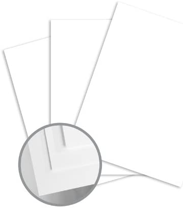 Blazer Digital White Paper - 12 x 18 in 80 lb Text Satin C/2S 500 per Ream