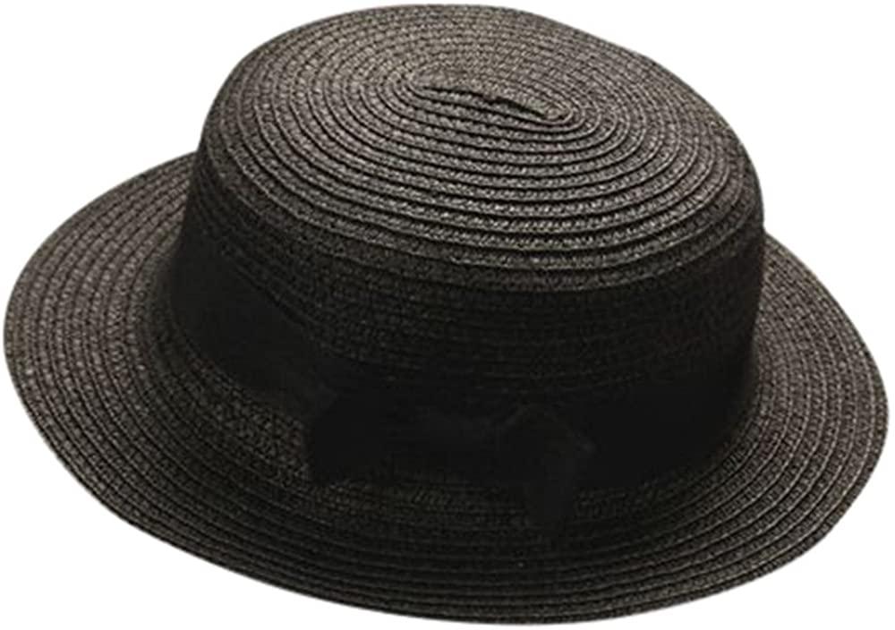 Zivock Unisex Outdoor Beach UV Protection Wide Brim Baby Children Breathable Hat Straw Hat Kids Hat Boy Girls Cap
