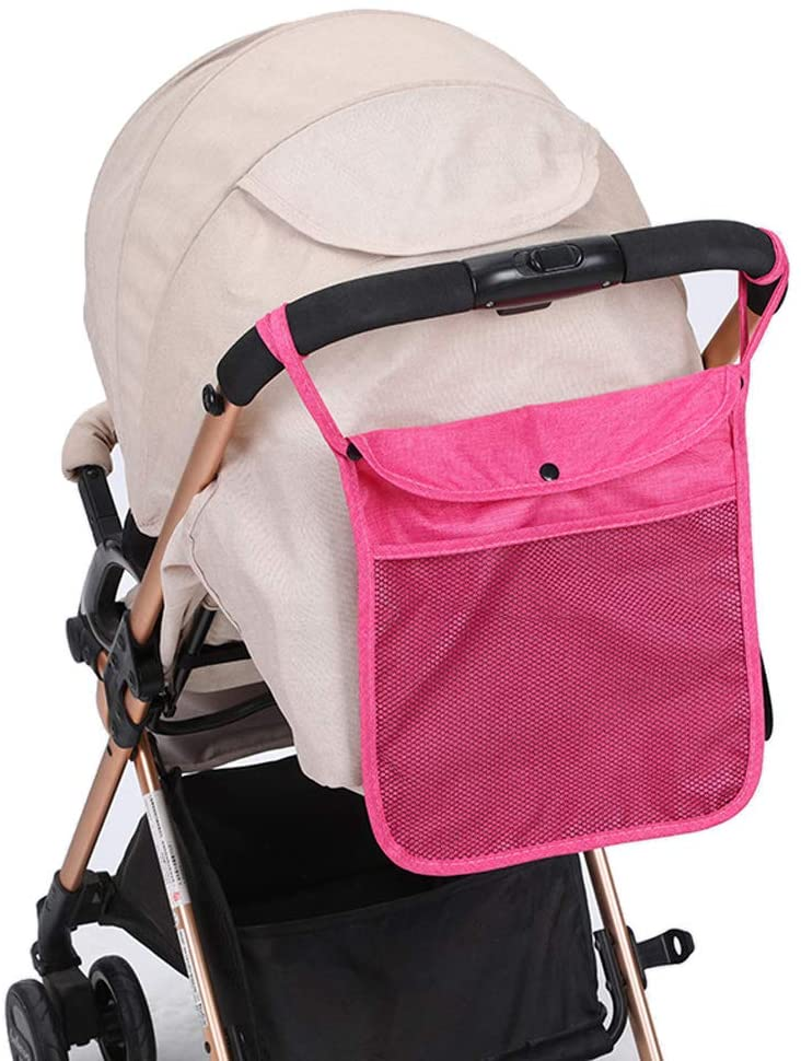 chefensty Baby Stroller Pram Pushchair Net Mesh Hanging Bag Organizer Diaper Storage Tidy Net Accessories