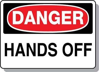 Beaed - DANGER Hands Off