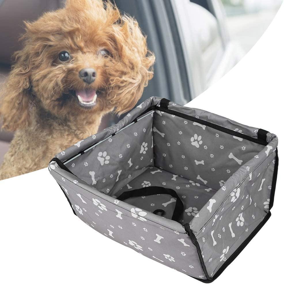 Yunnyp Oxford Dog Car Mat,Pet Cat Car Front Seat Non–Slip Mat Basket Pet Carrier Pad