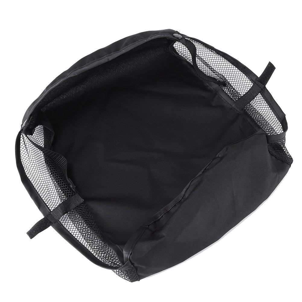 GOTOTOP Stroller Bottom Storage Bag, 1Pc Baby Waterproof Stroller Attachable Organizers Baby Stroller Pram Bottom Basket Pushchair Buggy Shopping Storage Case Organizer Bag