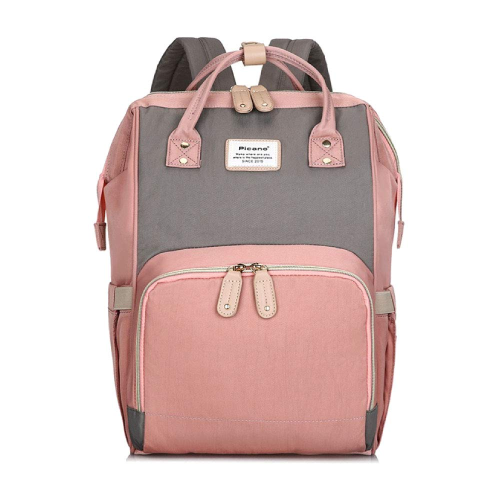 Diaper Bag for Baby Girl, Large Diaper Bag Pack, Diaper Backpack with Insulated Pockets Waterproof Maternity Bags for Travel