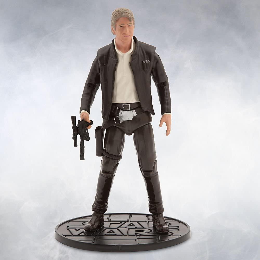 Star Wars Han Solo Elite Series Die Cast Action Figure - 6 1/2 Inch The Force Awakens