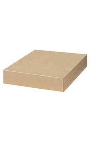 Kraft Apparel Boxes 15 x 9 ½ x 2 inches - Case of 100