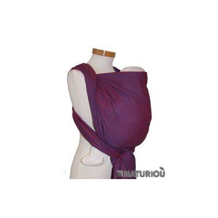 Storchenwiege Woven Cotton Baby Carrier Wrap (3.6, Leo Violet)