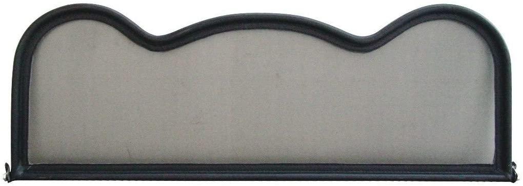 Wind Deflector for Mazda MX5 (1989-2005) - R-Style - Black   Windstop   Wind Blocker