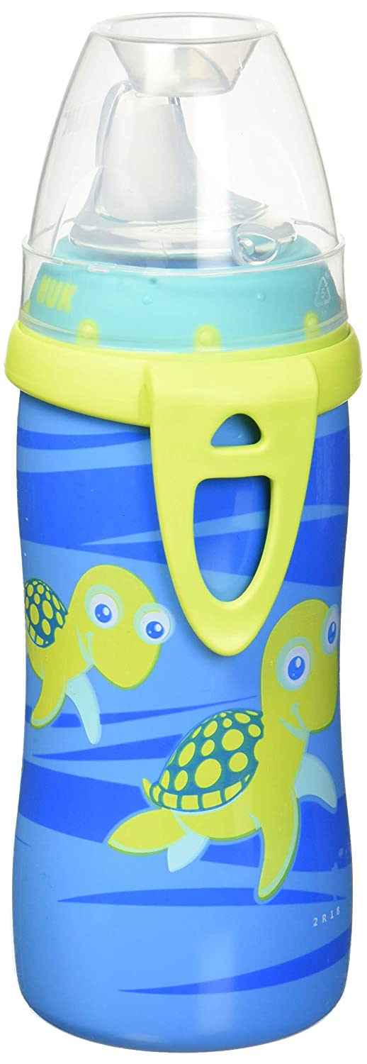 NUK Active Cup With Clip 10 Oz - boy colors