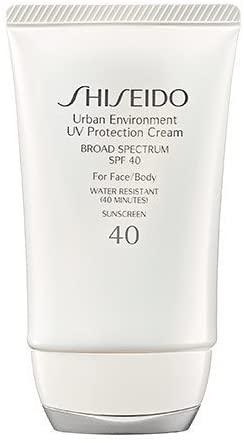 Shiseido Urban Environment UV Protection Cream Broad Spectrum SPF 40 for Face, 1.9 Ounce by Shiseido