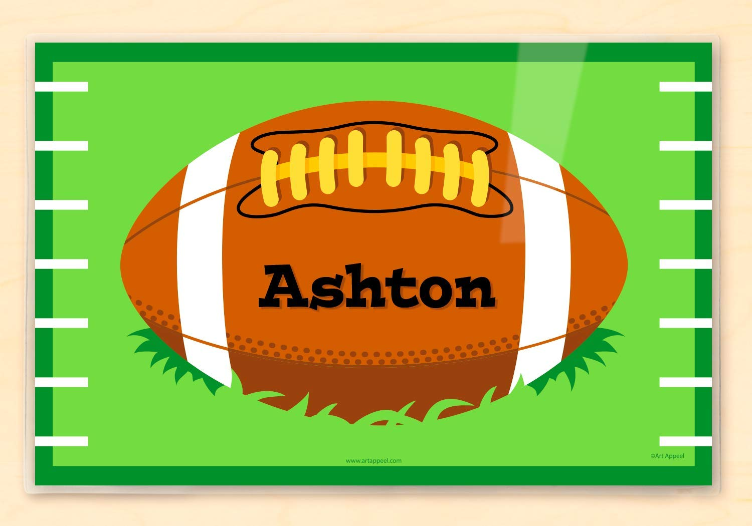 Football Personalized Placemat By Olive Kids