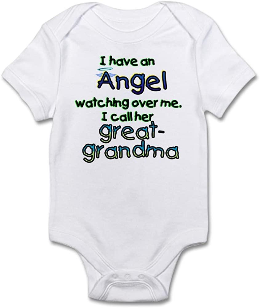 CafePress Angel Called Great-GRAMDMA Infant Baby Bodysuit