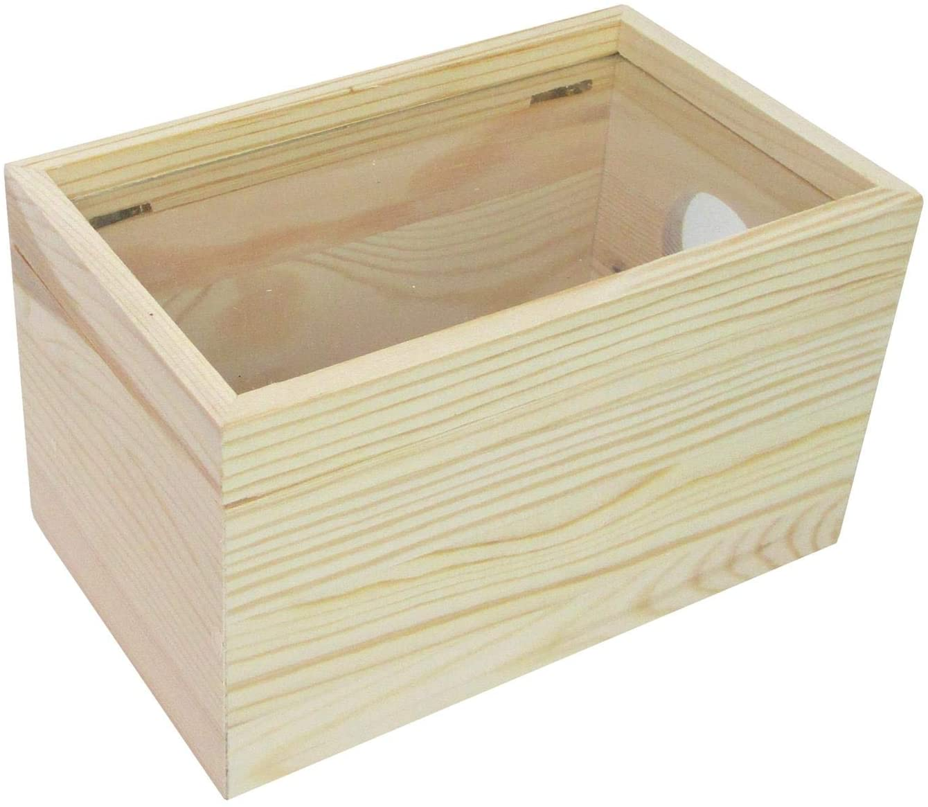 SPC Wood Shadow Box with Window Rectangle Natural (24 piece)