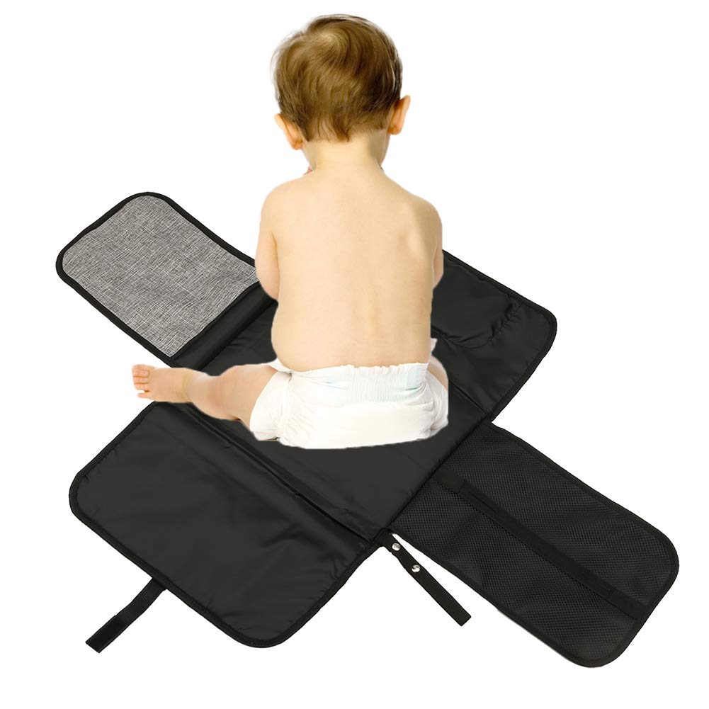 NCONCO Baby Changing Mat, Portable Waterproof Baby Diaper Pad for Travel Home