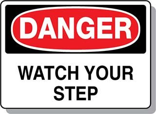 Beaed - Danger Watch Your Step - 100-0021-F4M01