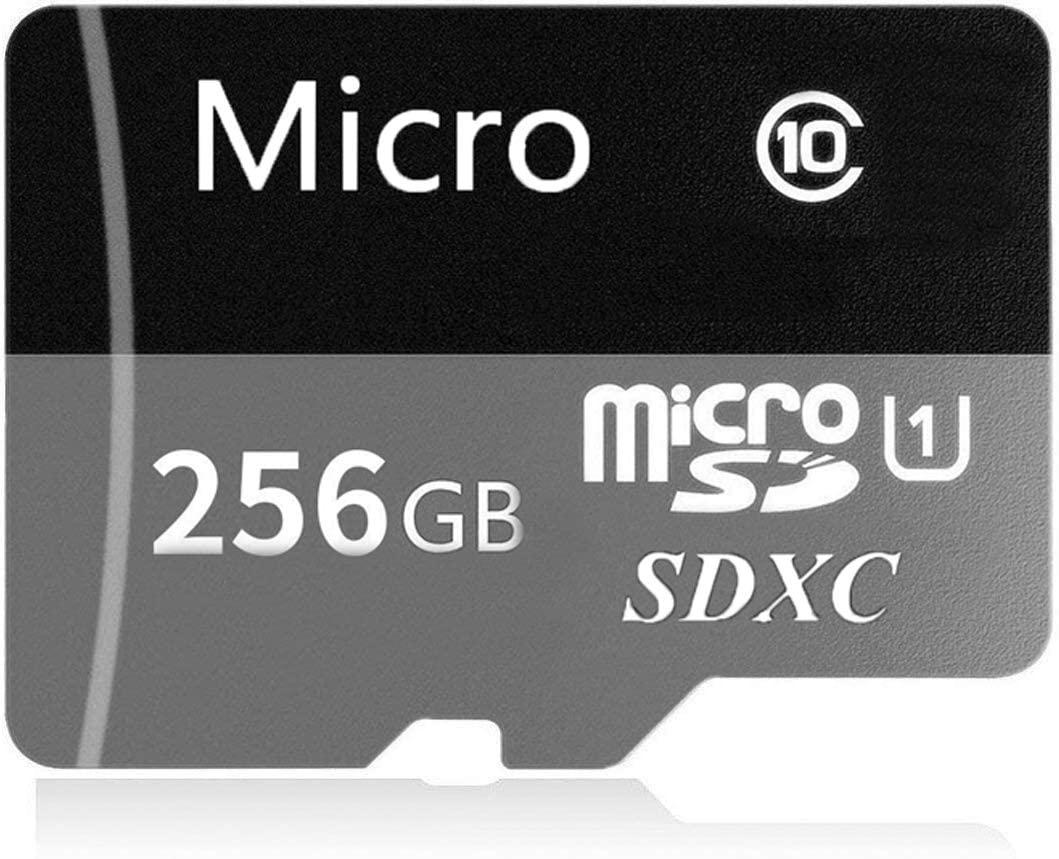 Micro SD Card 256GB/512GB/1024GB High Speed Class 10 Memory Micro SD SDXC Card with Adapter (1024GB Black)