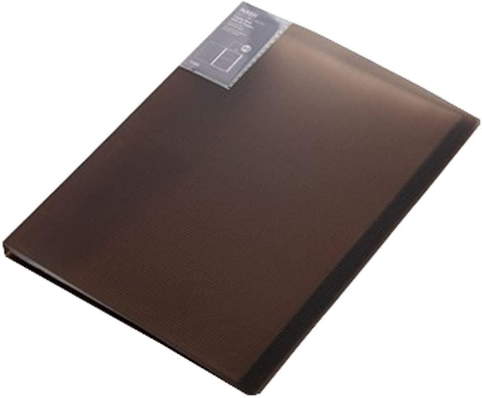 40 Pockets A4 File Document Organizer Expanding File Pocket Folder Holder, Brown