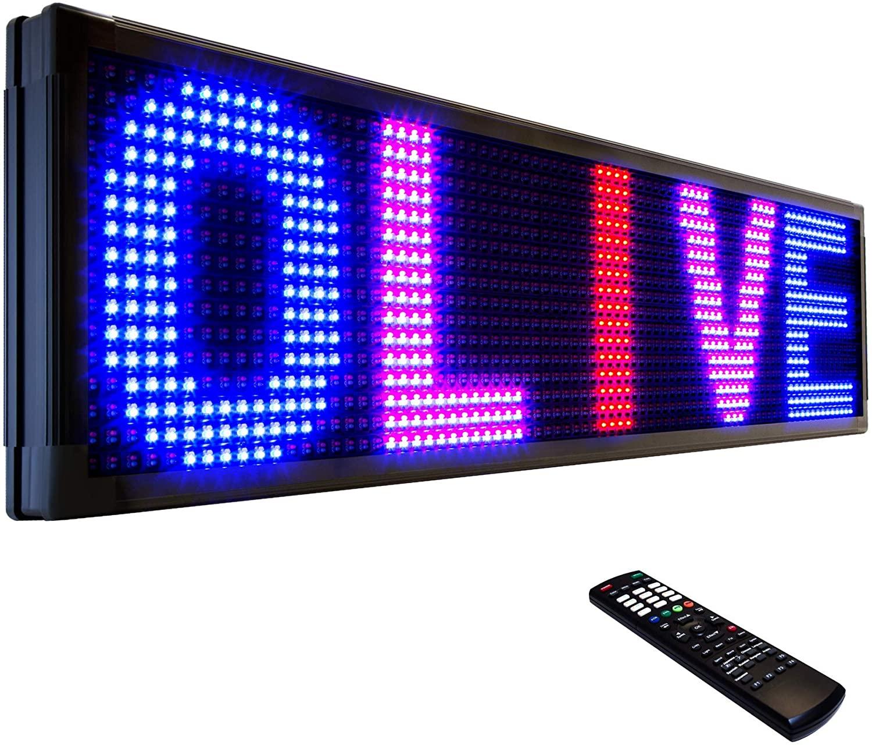 OLIVE LED Sign 3Color, RBP, P26, 36