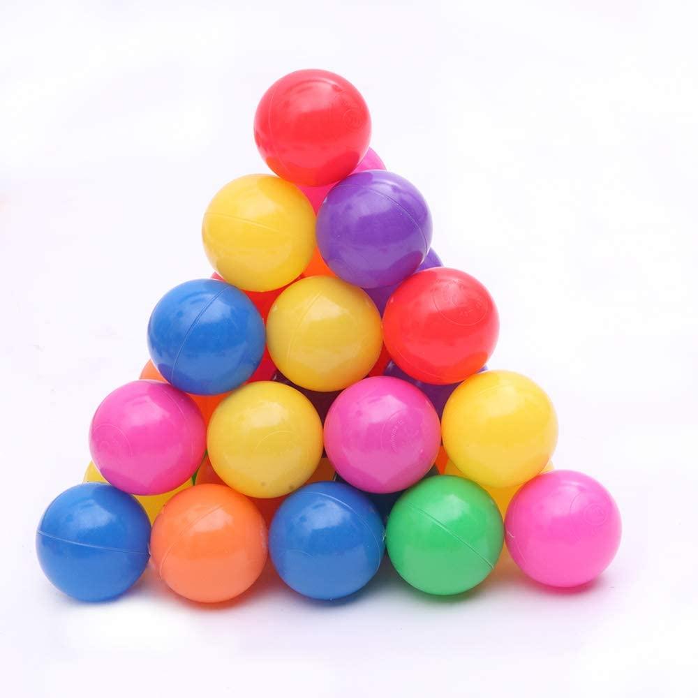 Aslion Pit Balls,100/200Pcs Eco-Friendly Plastic Colorful Ocean Ball Funny Baby Kid Swim Water Pool Toys