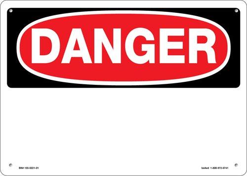 Beaed - DANGER HEADING BLANK SIGN