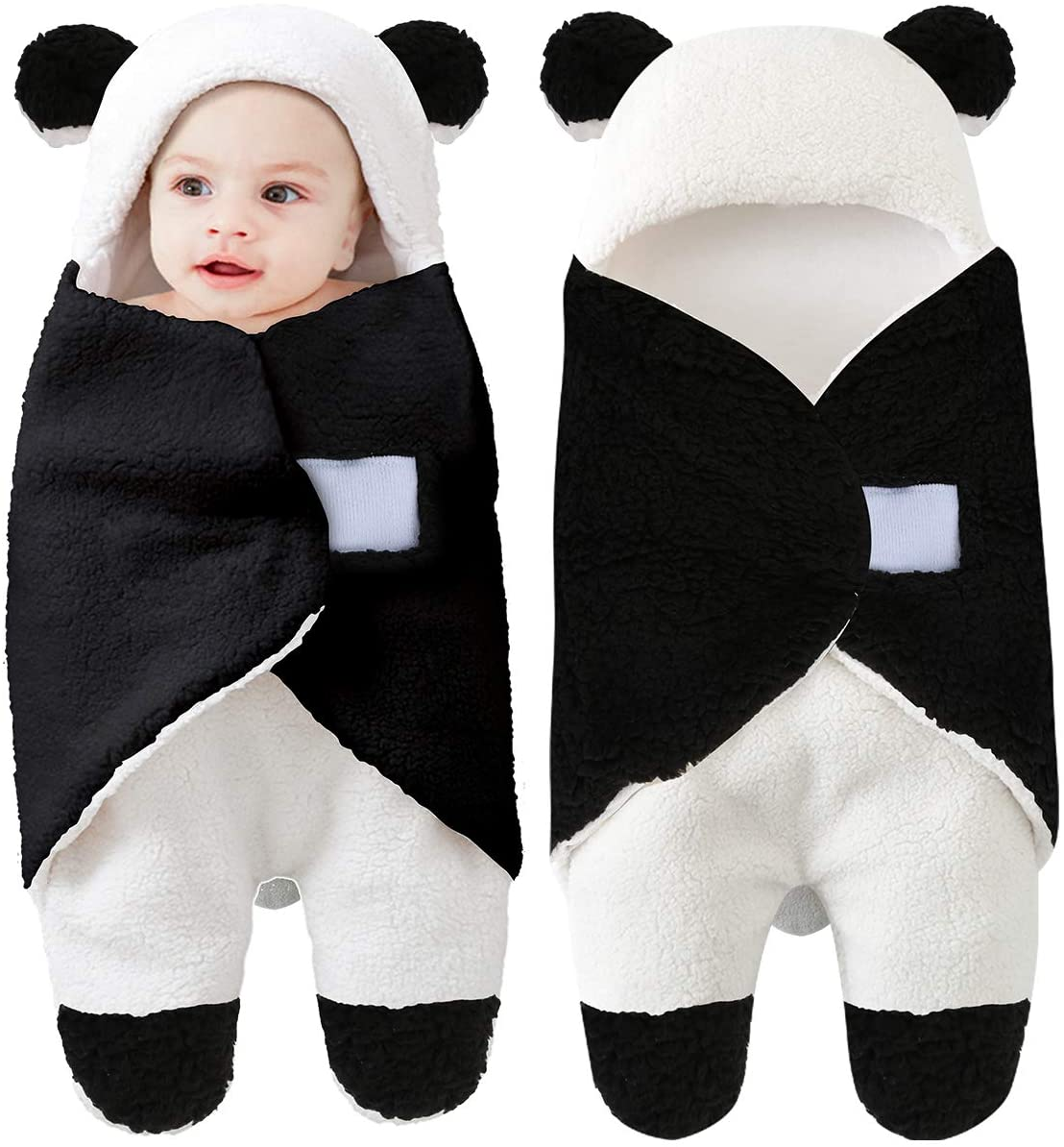 Camidy Newborn Swaddle Blanket,Infant Warm Stroller Wrap Baby Sleeping Bag Sack for Boys Girls