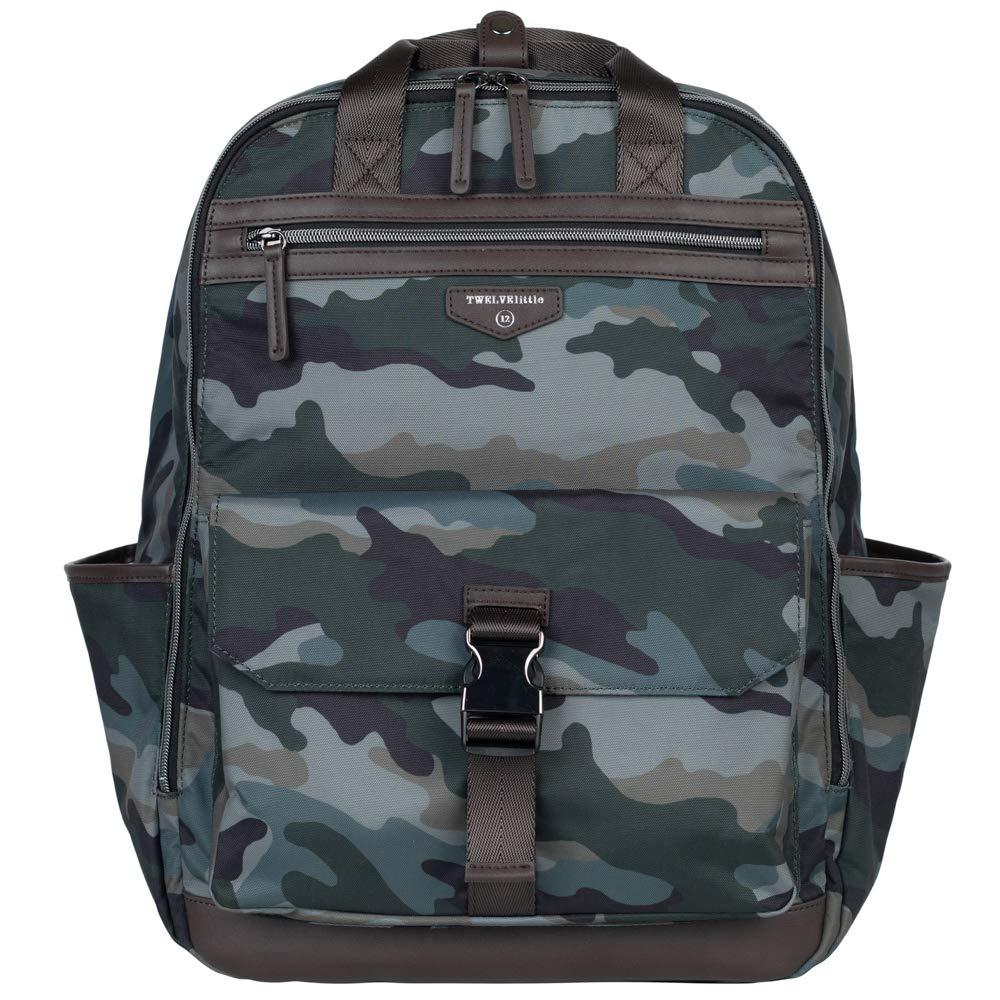 TWELVElittle Unisex Courage Backpack Diaper Bag (NEW) (Camo 2.0)