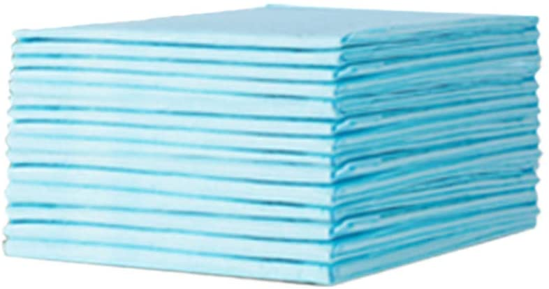 Healifty Disposable Changing Pad Liners for Baby Leak Proof Breathable Incontinence Diaper Changing Pad Underpads Mattress Play Pad Sheet Protector 20Pcs