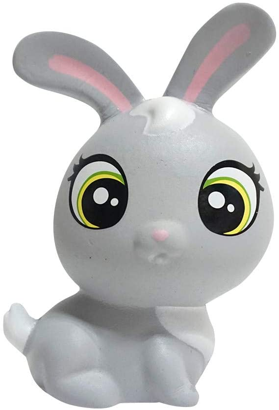 Fineday Funny Squeeze Rabbit Cream Bread Scented Slow Rising Toys Phone Charm Gifts Toy, Toys and Hobbies (Gray)
