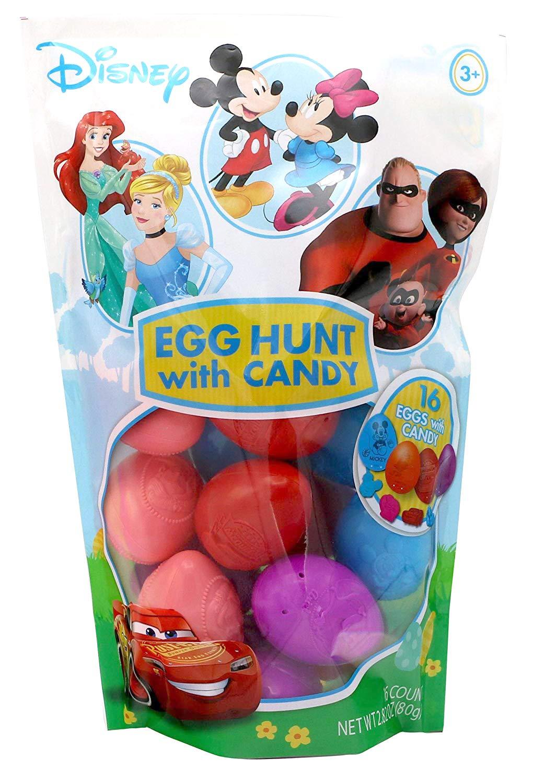 Disney Characters Easter Egg Hunt Assortment, 16 Count