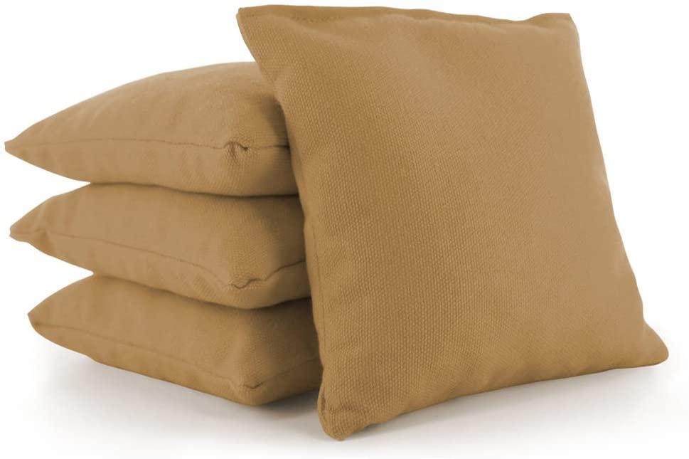 Tailor Spot Cornhole Bean Bags (Set of 4) Standard ACA/ACO Regulation Corn Filled 25+ Colors