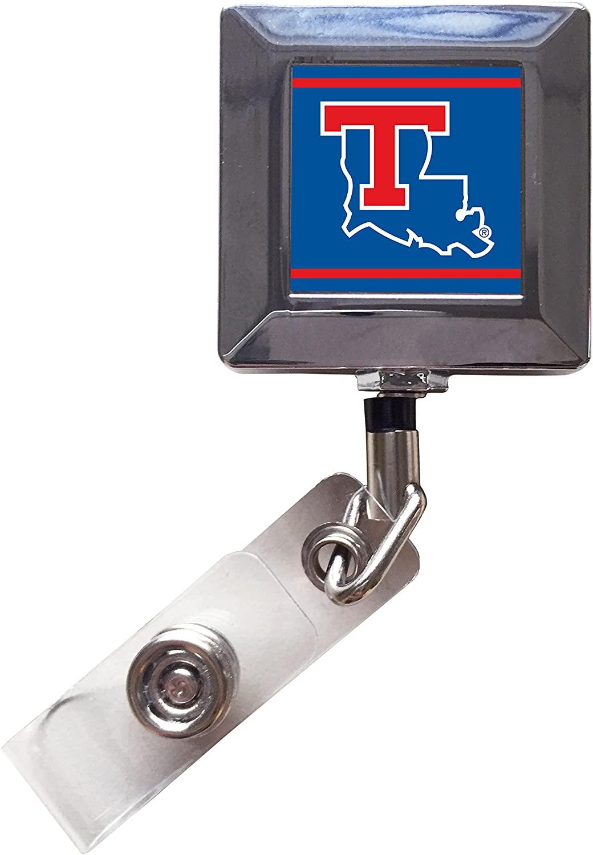 Louisiana Tech Bulldogs 2-Pack Retractable Badge Holder
