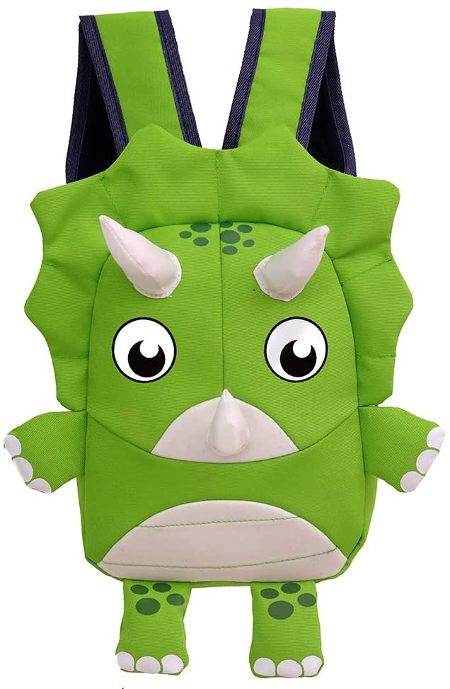 YU-NIYUT Toddler Baby Cartoon 3D Animal Anti-Lost Harness Leash Backpack Outdoor