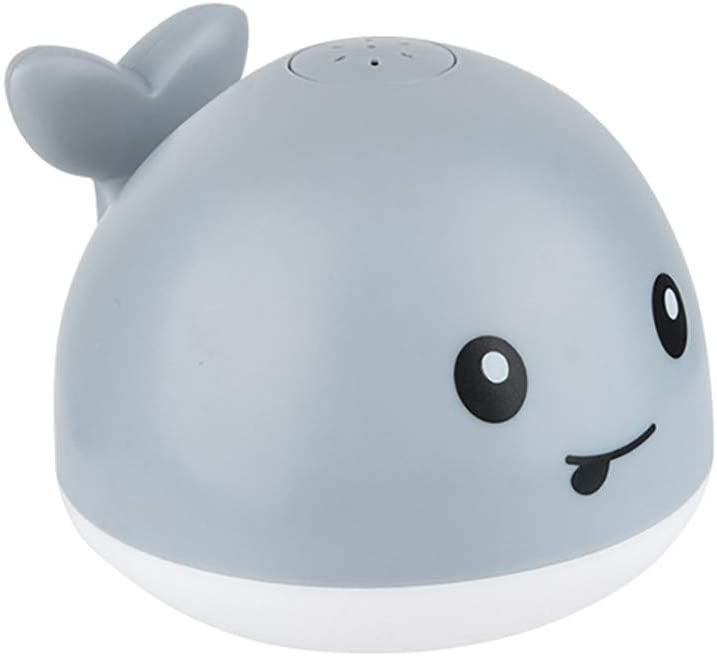 shanghaijiuheng Baby Bath Toys, Automatic Water Spray Whale Light Up Bath Toys for Toddlers Age 1-3, Bathtub Shower Sprinkler Bath Toy for Babies Infants Girls Boys (B)