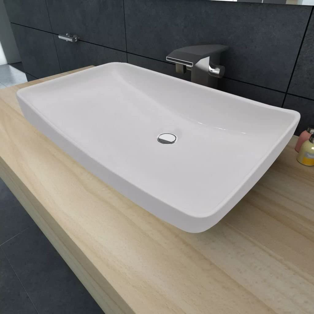 Unfade Memory Modern Luxury style Top Quality Bathroom Ceramic Basin Multi-size and Multi-style (28