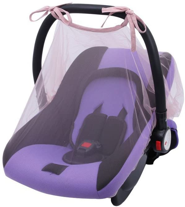 Little Story Baby Carrier Mosquito Net Cover Stroller Cover Safety Seat Insect Cover Baby Crib Seat Mosquito Net Newborn Curtain Car Seat Insect Netting Canopy Cover