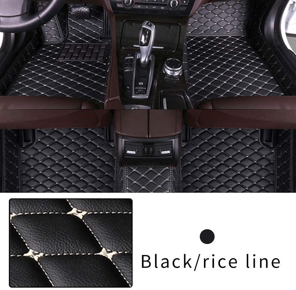 Car Floor Mat CUSTOM for Lexus IS 2000-2004 Heavy Duty XPE Leather Full coverage Interior Protection Floor Mat Black Beige