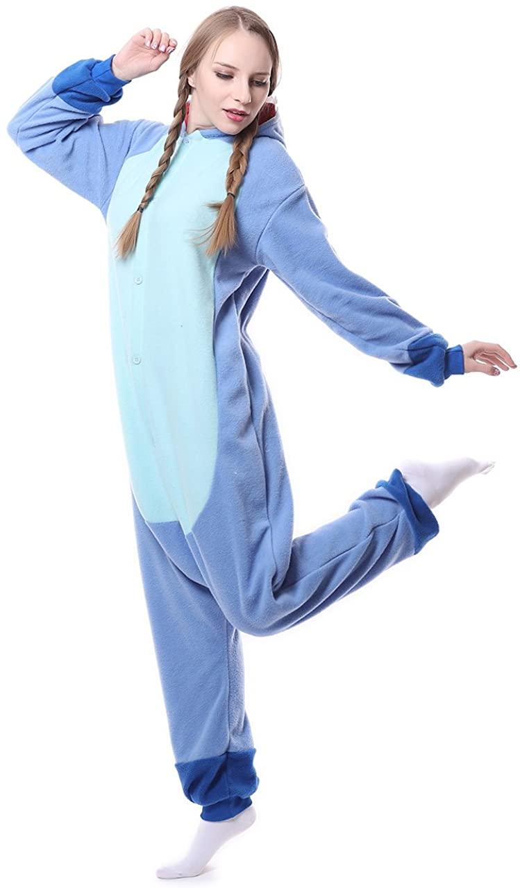 Animal Cosplay Costume Adult Pajamas Plush One Piece Party Dress