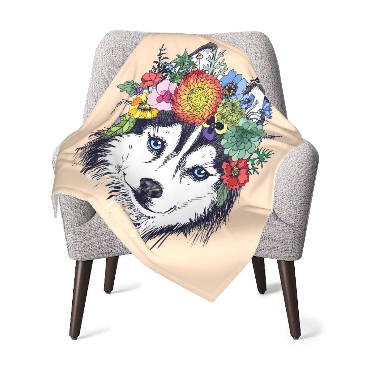 Delerain Husky Baby Throw Blanket 30