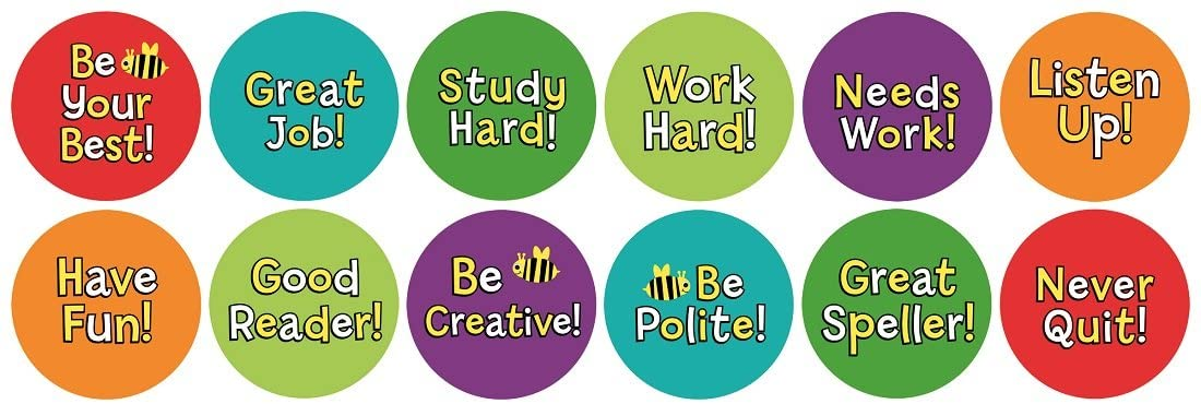 Hygloss Products Be Your Best Classroom Accents – Creative Teaching Resources – 6 Inches, 30 Pack